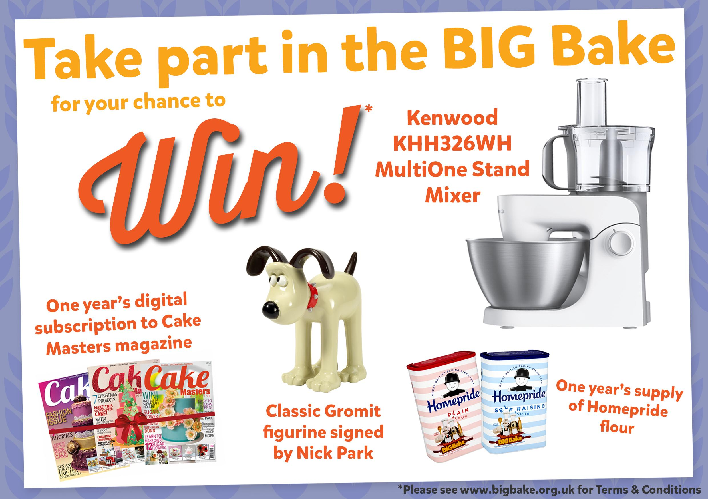 BIG Bakers! Enter our Cracking Bakers competition
