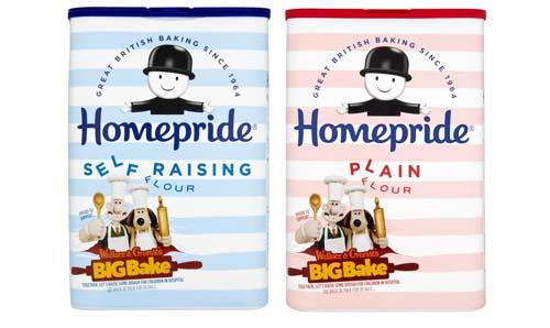 Wallace & Gromit's BIG Bake with Homepride Flour