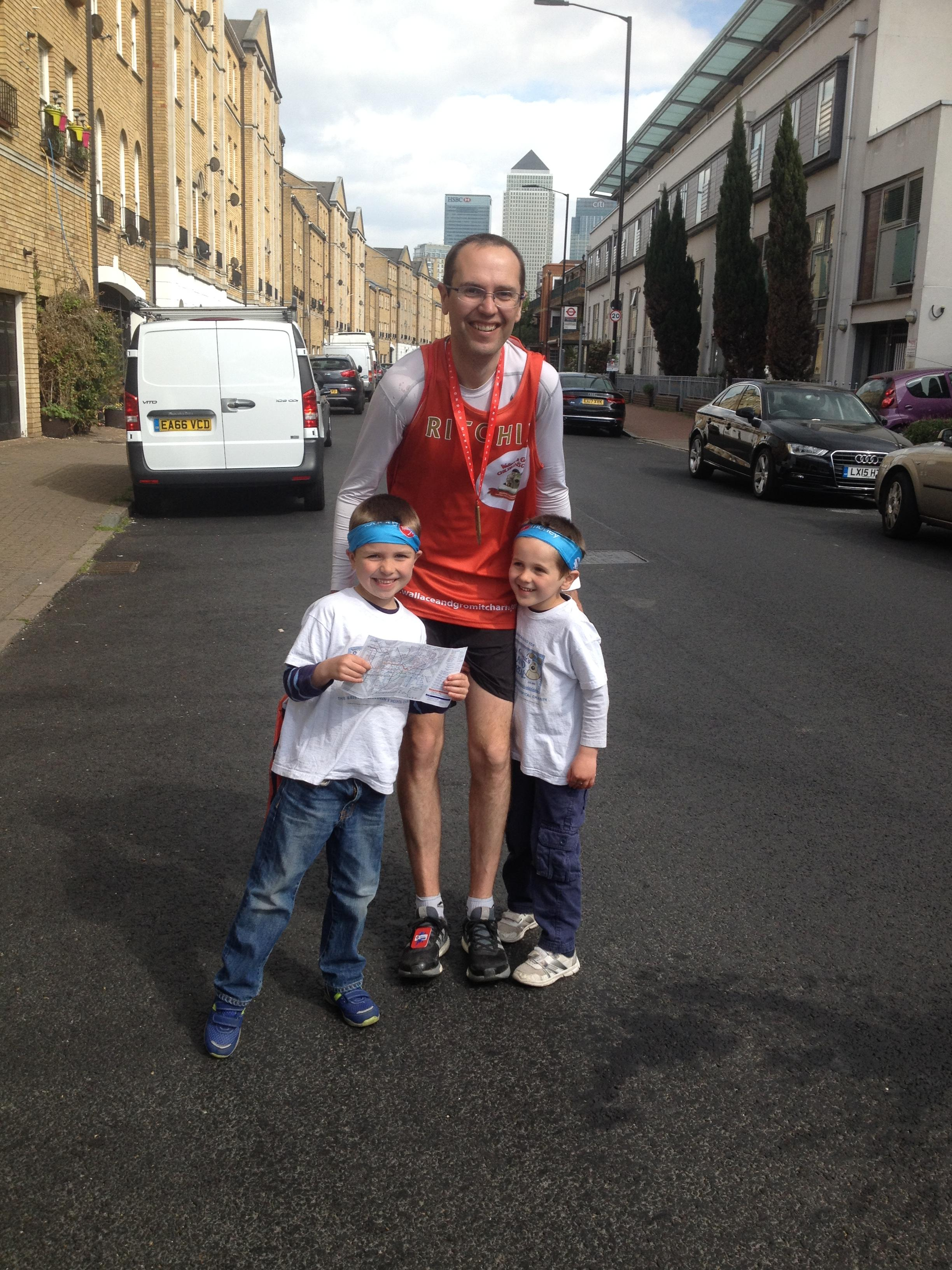Congratulations to our London Marathon Runners
