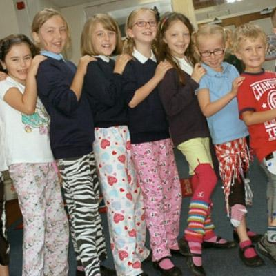 Wrong Trousers Day logo